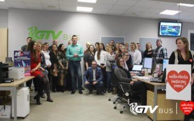 GTV bus wspiera WOŚP