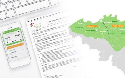 Nowy formularz dla wyjeżdżających do Belgii