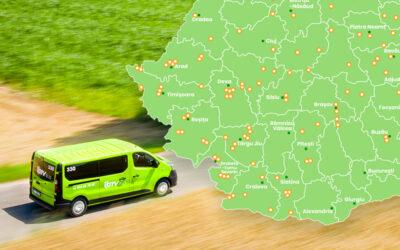 GTV bus wjeżdża do Rumunii!